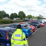 security car park